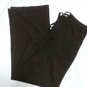 Old Navy striped work pants